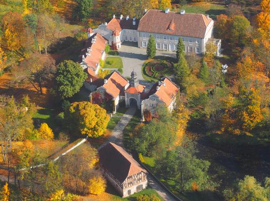 Pałac z XVI wieku - obecnie hote