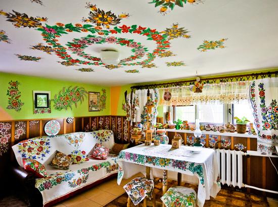 Wnętrze domu pani Danuty Dymon