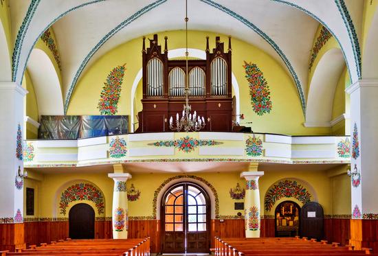 Wnętrze kościoła św. Józefa w Zalipiu